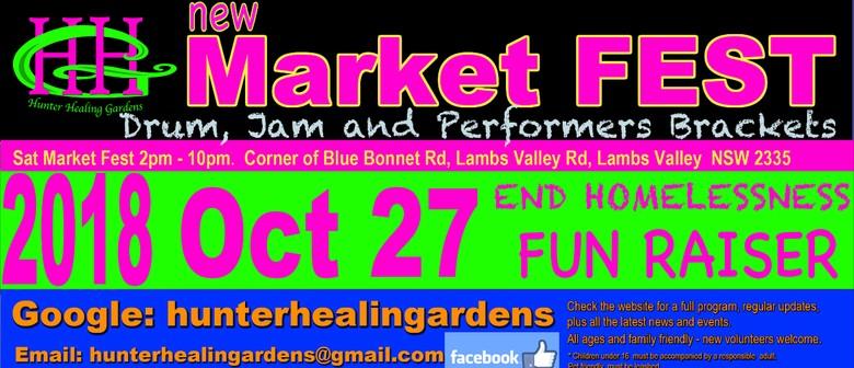 hhg market fest fun raiser to help end homelessness hunter
