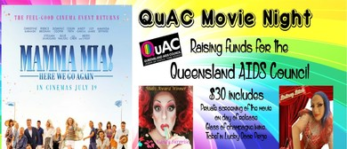 QuAC Fundraising Movie Night: Mamma Mia! Here We Go Again