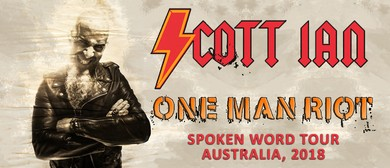 Scott Ian – One Man Riot Spoken Word Tour