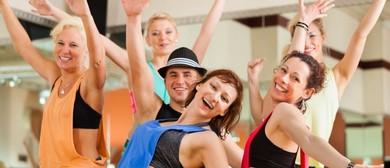 BoogieFit Solo Latin Dance – Beginners