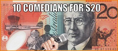 10 Comedians for $20