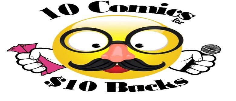 10 Comics for $10 Bucks