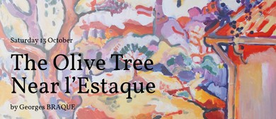 Social Painting: Olive Tree Near l'Estaque by Georges Braque