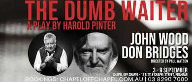 The Dumb Waiter By Harold Pinter – John Wood & Don Bridges