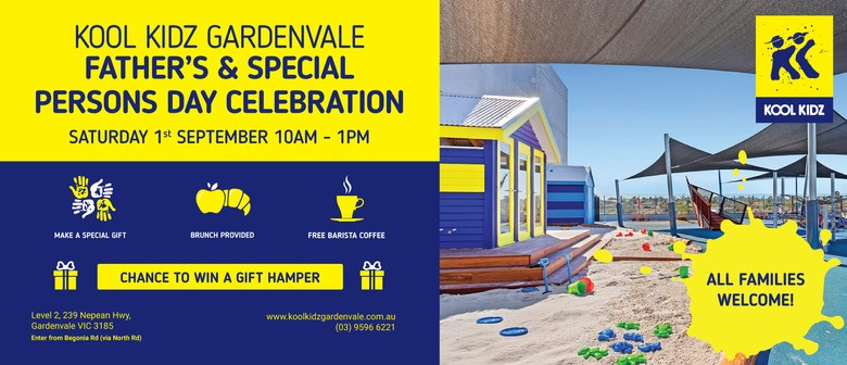 Kool Kidz Gardenvale Father's & Special Persons' Day