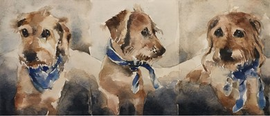 Painting Dogs, Cats and Other Pets On Watercolour