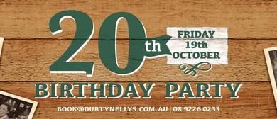 20th Birthday Party