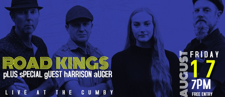 Road Kings With Special Guest Harrison Auger
