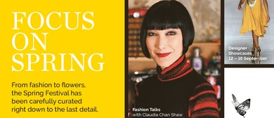 Fashion Lecture Series by Claudia Chan Shaw