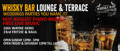 Hot August Piano Nights