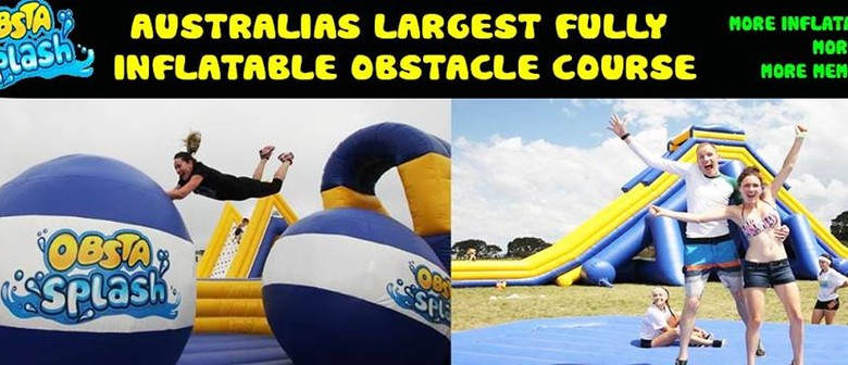ObstaSplash – Inflatable Obstacle Course