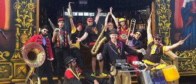 Junkadelic Brass Band – Travelling In the Footsteps Tour