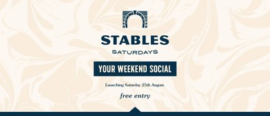 Stables Saturdays: Launch