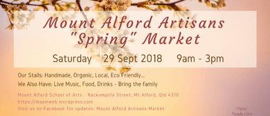 Mount Alford Artisans Market