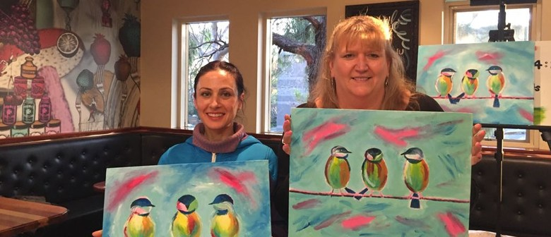 Three Birds – Beginners Painting Event With a Twist