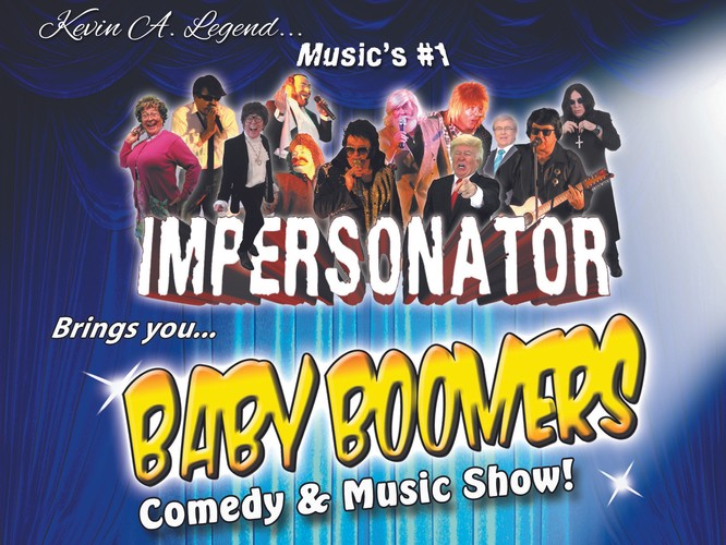 Baby Boomers Comedy and Music Show - Bateau Bay - Eventfinda
