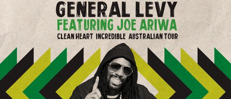 General Levy Clean Heart Incredible Australian Tour