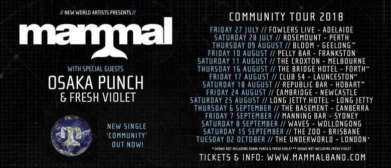 "Mammal ""Community"" Tour"