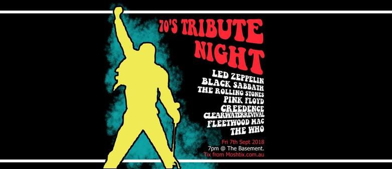 70s Tribute Night