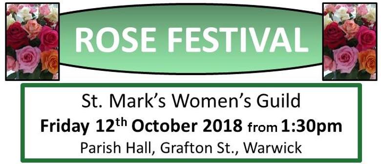Women's Guild 56th Annual Rose Festival