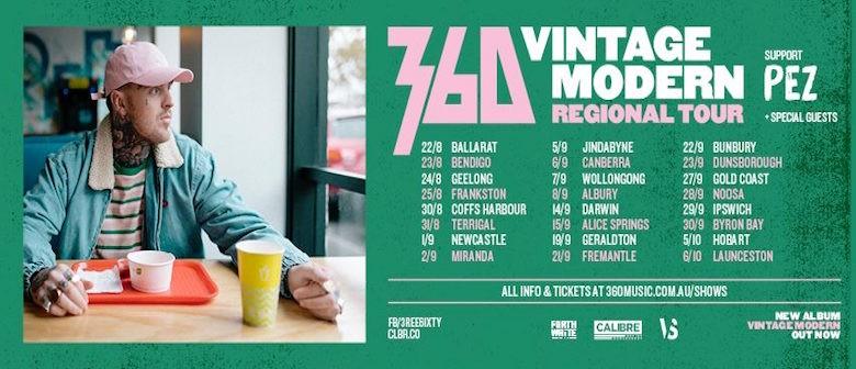 360 With Pez – Vintage Modern Regional Tour