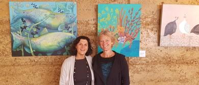 Janine Gasbarri & Alana Chesterfield-Evans Art Exhibition