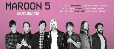 Maroon 5 – Red Pill Blues Tour