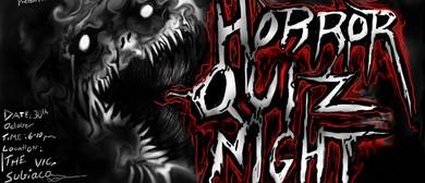 Horror Quiz Night