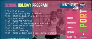 Multisports School Holiday Program