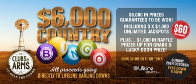 $6K Country Bingo