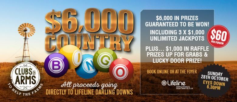 $6K Country Bingo