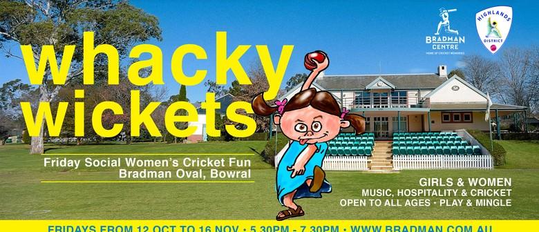 Whacky Wickets – Women's Social Cricket Nites