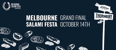 Melbourne Salami Festa Grand Final Sunday