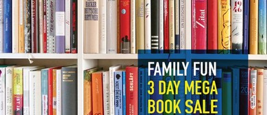 Vinnies Family Fun 3-Day Mega Book Sale and More