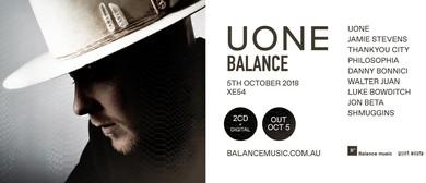 Uone Balance Album Launch Party