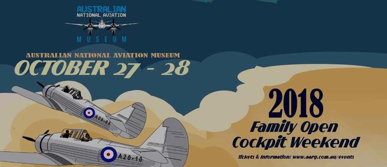 Family Open Cockpit Weekend 2018