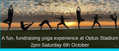Wellness Walkabout Mega Yoga Fundraising Event