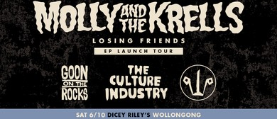 Molly & The Krells – Losing Friends EP Tour