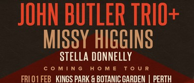 John Butler Trio's 'Coming Home Tour' plus Missy Higgins