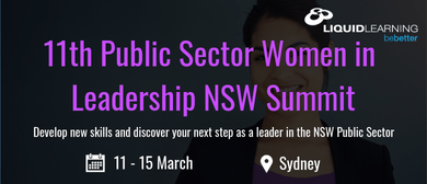 11th Public Sector Women in Leadership NSW Summit