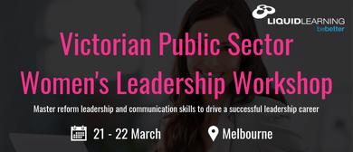 Victorian Public Sector Women's Leadership Workshop