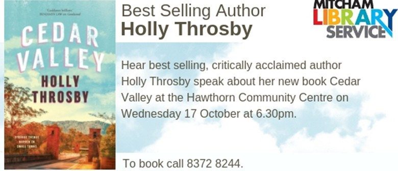 Best Selling Author Holly Throsby