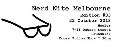 Nerd Nite Edition 33