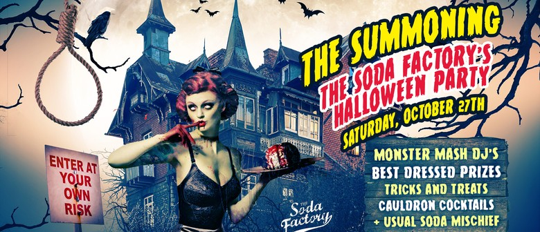 The Soda Factory's Halloween Party