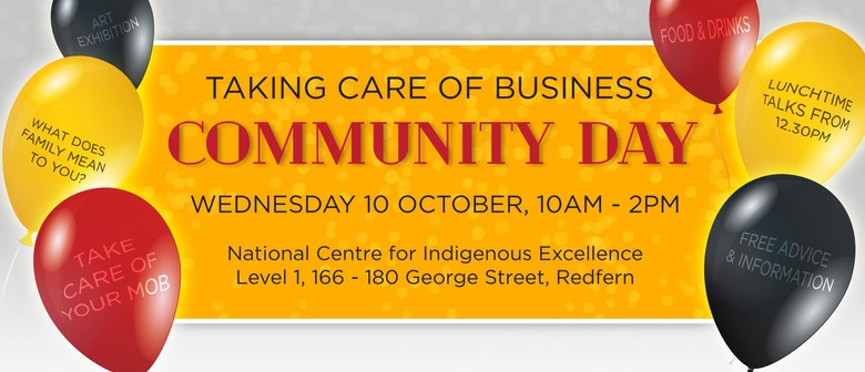 Taking Care of Business – Aboriginal Community Day