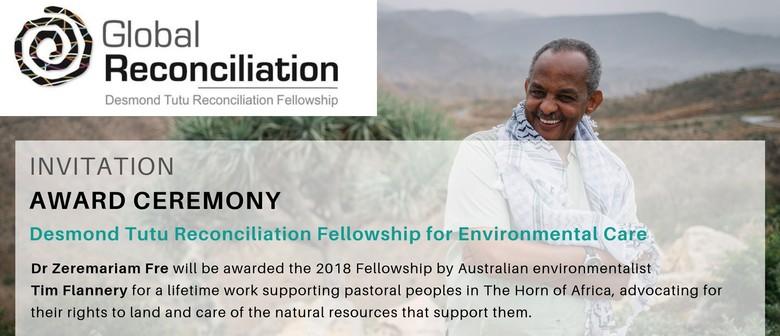 2018 Desmond Tutu Reconciliation Fellow Award