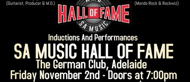 SA Music Hall Of Fame Inductions 2018