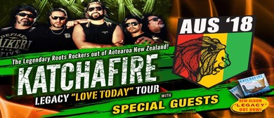 Katchafire – Legacy Love Today Tour 2018 - Hillarys