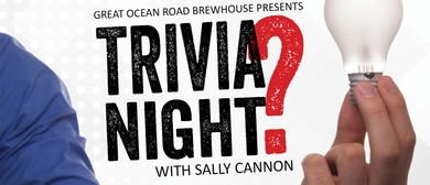 Trivia Night With Sally Cannon