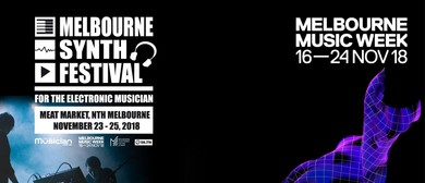MMW: Melbourne Synth Festival